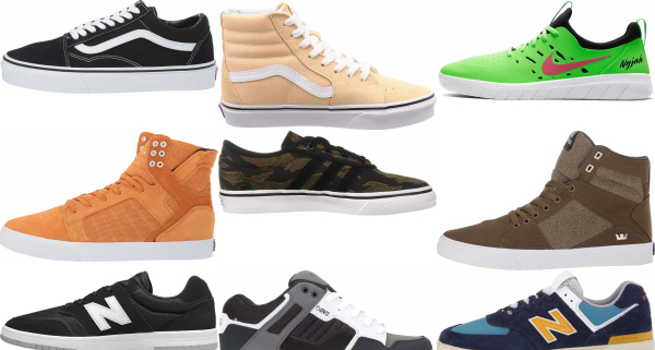 buy wide skate sneakers for men and women