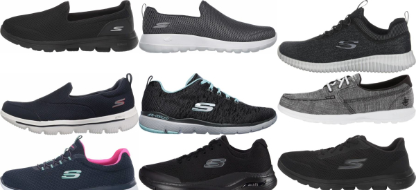 buy wide skechers walking shoes for men and women
