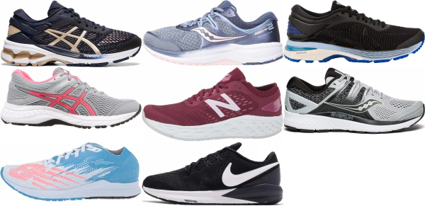 buy wide stability running shoes for men and women