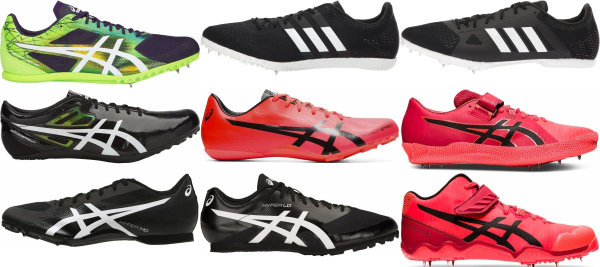 buy wide track & field shoes for men and women
