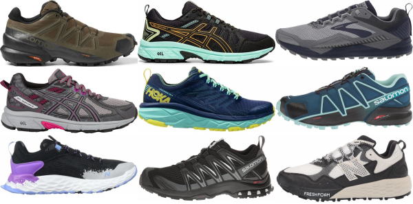 buy wide trail running shoes for men and women