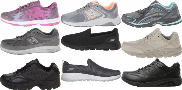 buy wide walking shoes for men and women