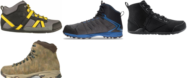 buy wide water repellent hiking boots for men and women