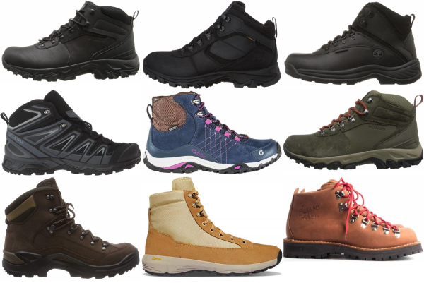 buy wide waterproof hiking boots for men and women