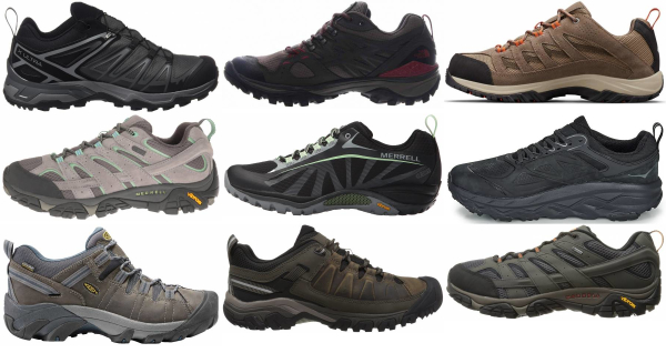 buy wide waterproof hiking shoes for men and women