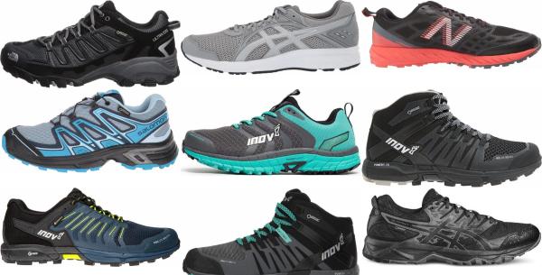 buy wide waterproof running shoes for men and women