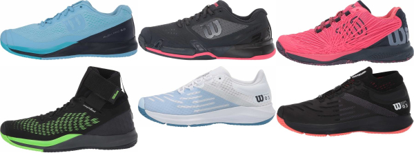 buy wilson all court tennis shoes for men and women