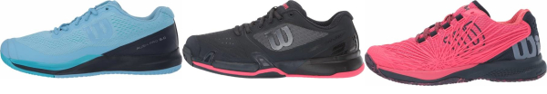 buy wilson rush pro tennis shoes for men and women