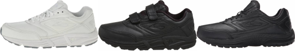 buy work brooks walking shoes for men and women