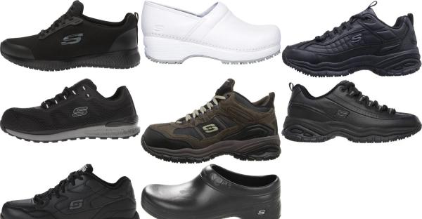 buy work skechers walking shoes for men and women