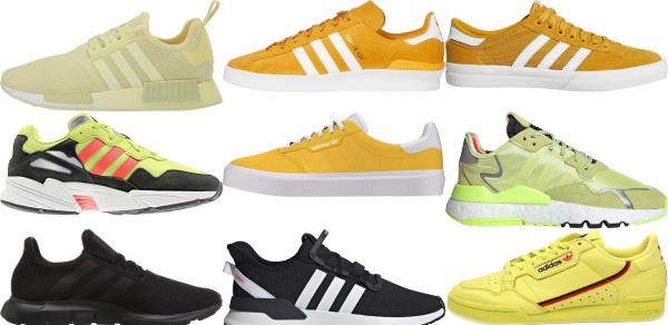 buy yellow adidas sneakers for men and women