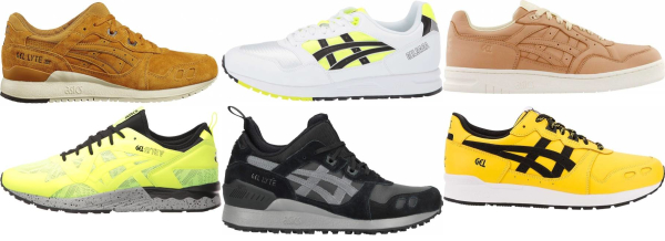buy yellow asics sneakers for men and women