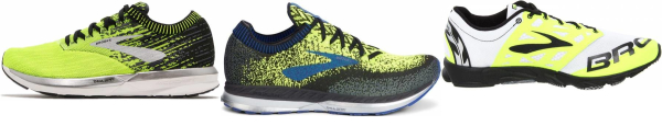 buy yellow brooks running shoes for men and women