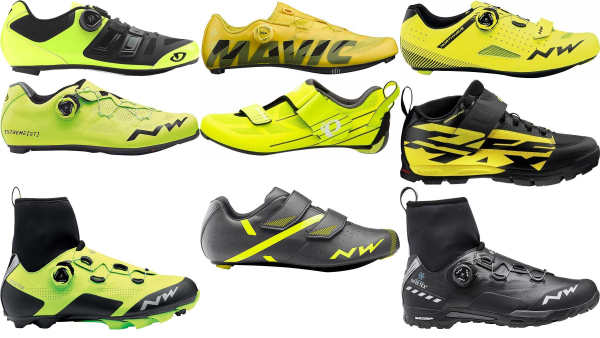 buy yellow cycling shoes for men and women