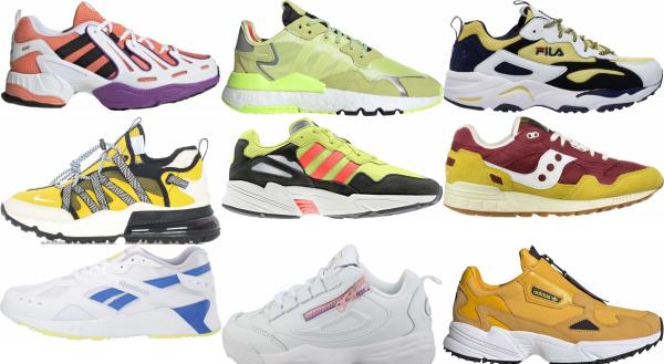 buy yellow dad sneakers for men and women