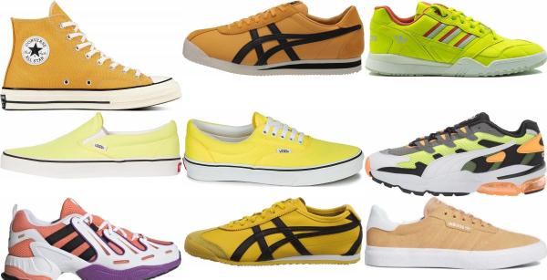 buy yellow eva sneakers for men and women