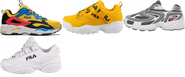 buy yellow fila sneakers for men and women