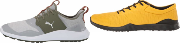 buy yellow golf shoes for men and women