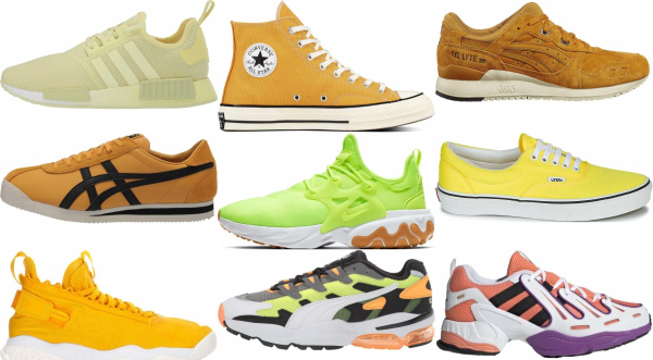 buy yellow laces sneakers for men and women