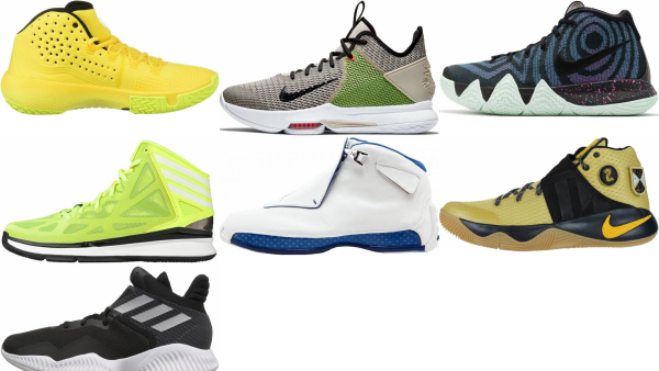buy yellow mid basketball shoes for men and women