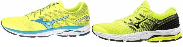 buy yellow mizuno running shoes for men and women
