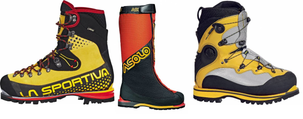 buy yellow mountaineering boots for men and women