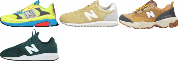 buy yellow new balance sneakers for men and women