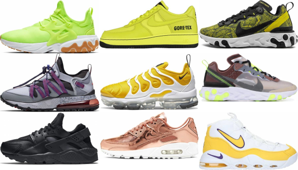 buy yellow nike sneakers for men and women