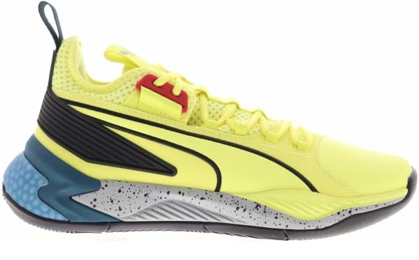 buy yellow puma basketball shoes for men and women