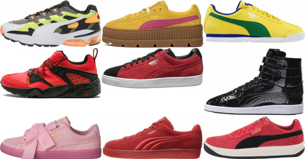 buy yellow puma sneakers for men and women
