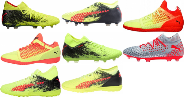 buy yellow puma soccer cleats for men and women