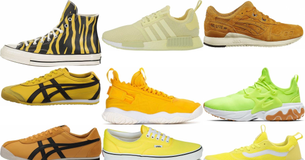 buy yellow sneakers for men and women