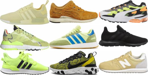 buy yellow summer sneakers for men and women