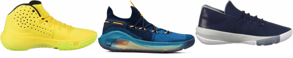 buy yellow under armour basketball shoes for men and women