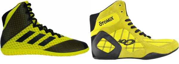 buy yellow wrestling shoes for men and women