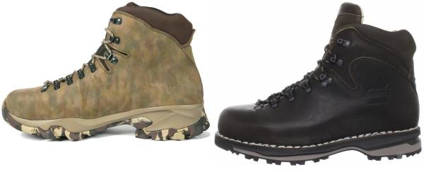 buy zamberlan water repellent hiking boots for men and women