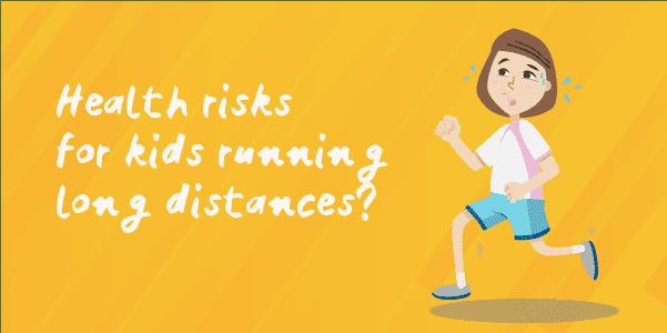 kids running health risks