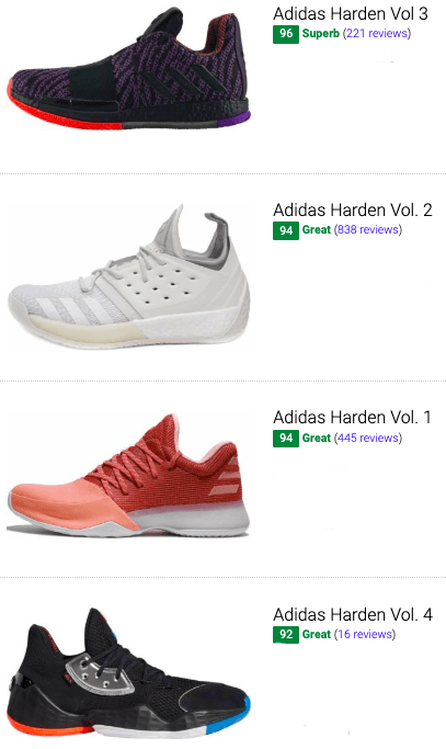 best james harden basketball shoes