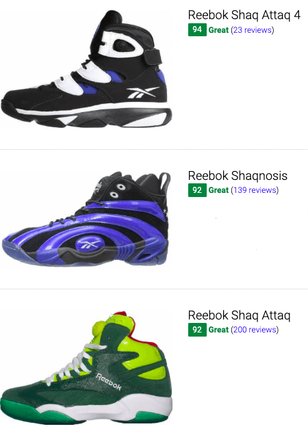 besy shaquille oneal basketball shoes