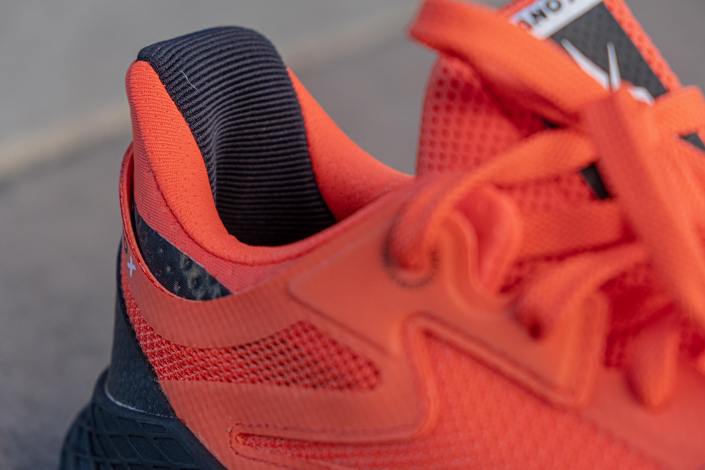 Blownup heel in Nano X