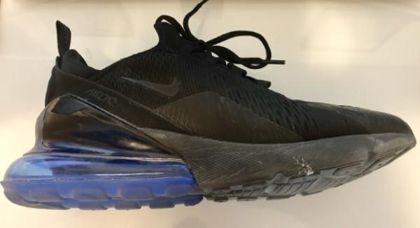 new products fa7c8 38cc4 ... Nike Air Max 270 in hand, I was surprised by how large the airbag was  and how much it stuck out the back of the shoe. Once I got the shoe on my  foot, ...