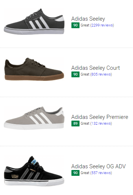 best adidas seeley sneakers