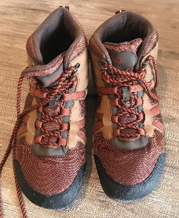 brand new 55b30 3b25a As I put the Daylite Hiker on, I was impressed as they were comfortable,  padded around the ankle, light and I absolutely agree the ground-feel is ...