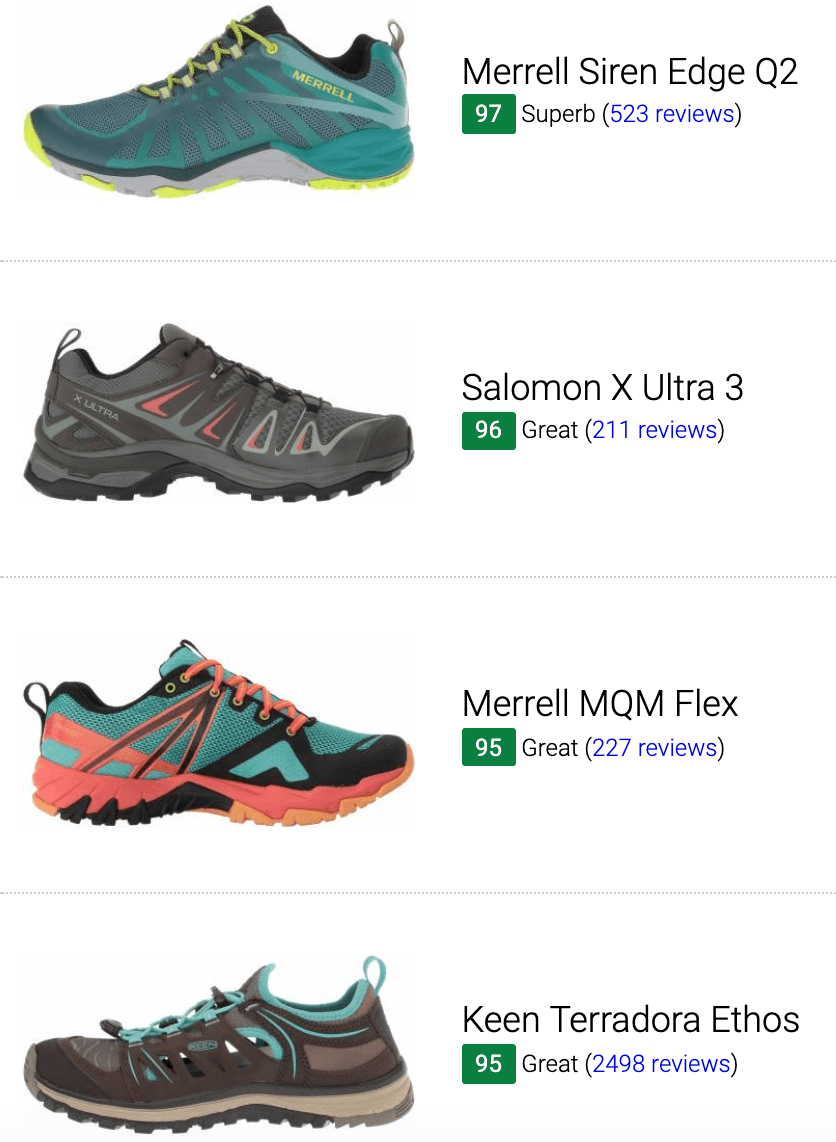 Best breathable hiking shoes