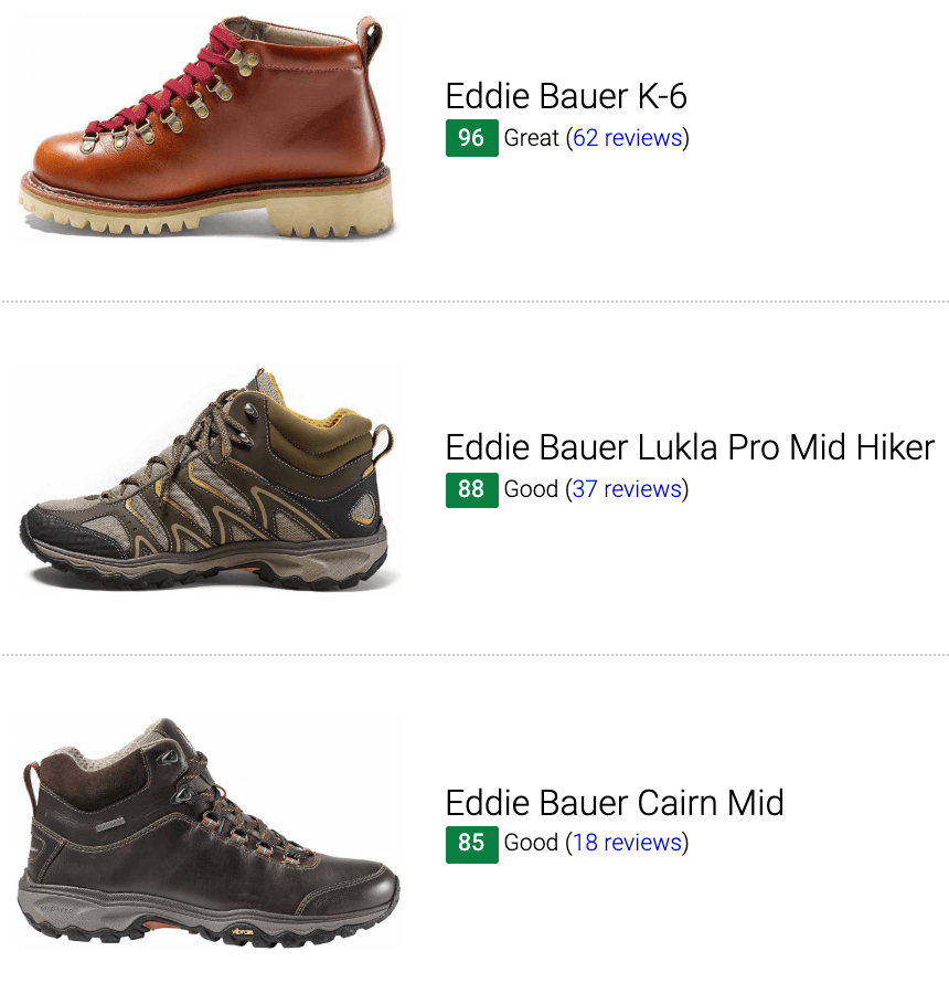 Best Eddie Bauer hiking boots