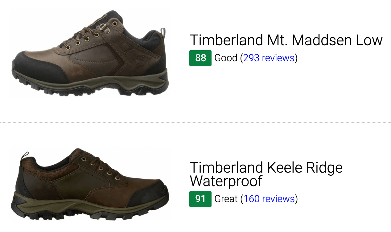 Best Timberland hiking shoes