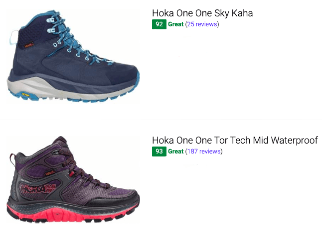 best hoka one one hiking boots