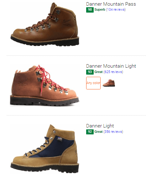 Best Made in USA hiking boots