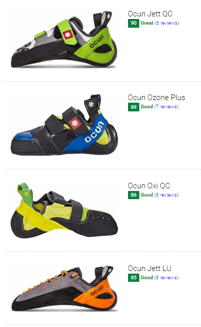 Best Ocun climbing shoes