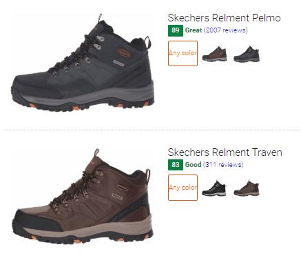 Best Skechers hiking boots